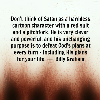is satan real scripture