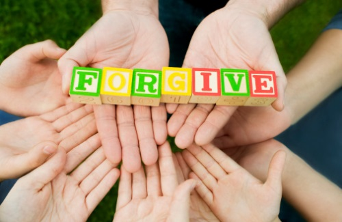 teaching children forgiveness