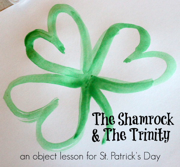 Shamrock Lessons for St. Patrick's Day homeschool
